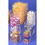Rigid Clear Plastic Cube Boxes