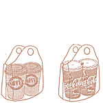 Cup Carrier Utility Bag