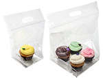 Clear Cupcake Zip Seal Bag Sets