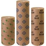 Custom Printed 50lb. Brown Kraft Giftwrap