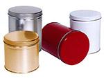 Cylinder Metallic Tins