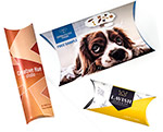 Digital Full Color Custom Printed Pillow Boxes from Your Supplied Photography/Artwork