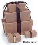 Double Ballotin Candy Boxes, Trays and Pads