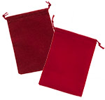 Rayo Suede Closeout Drawstring Pouches