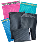 Economy Color Bubble Self Seal Mailers