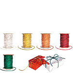 Metallic Elastic Cord On Rolls
