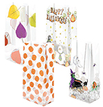 Halloween & Fall Styles Pre-Printed PolyPropylene Bags