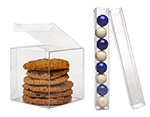 Food Safe Crystal Clear PET Boxes