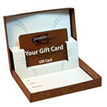 Flip-Box Gift Card Boxes - Auto Pop Up Cardboard Insert