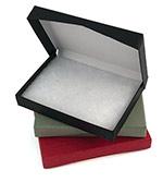 Flip-Box Fiber Filled Jewelry Box
