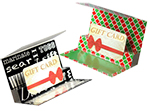 Flip Gift Card Folder
