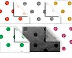 Premier Metallic Foil Stamped Dots Tissue