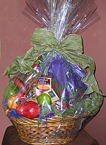 Clear Flat Bottom Polypropylene Gift Basket Bags