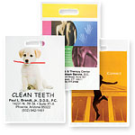 Non-Reinforced Full Color Die Cut Bags