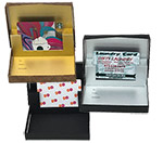 Pop-up Gift Card Boxes w/ Colored Insert