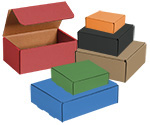 Gourmet Colored Tuck Top Shipping Boxes