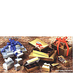 Gourmet Folding Metallic Candy Boxes
