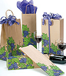 Grape Coordinated Paper Bags and Boxes
