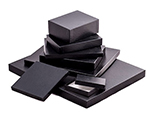 'Great Lakes' Black Leatherette w/ Black Base Photo Boxes