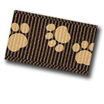 Grosgrain Paw Designed Ribbon