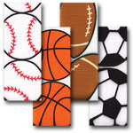 Grosgrain Sports Designed Ribbon