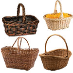 Baskets w/ Top Handles