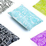 Damask Print Puff Pillow Pack