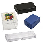 Rigid Clear Hinged Plastic Boxes