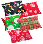 Holiday Design Puff Pouches