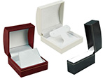Horizon Leatherette Jewelry Boxes Satin Inserts
