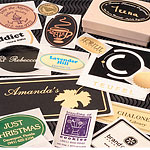 Foil Hot Stamped Labels