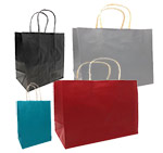 Imported Tinted Color Paper Bags on Kraft