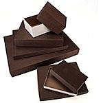 General Purpose Rigid 2 Piece Chocolate Brown Boxes
