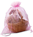 Jumbo Organza Gift Pouches