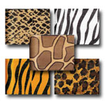 Jungle Fabric Skins Ribbon