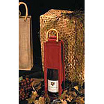 Natural Jute Wine Bags w/Handles