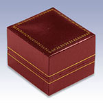 Classic Red Leatherette Boxes