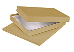 Economy Kraft Matte Photo Boxes