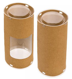 FDA Approved Craft Paper Round Tube