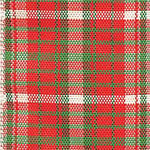 Langdon Wired Edge Plaid Ribbon