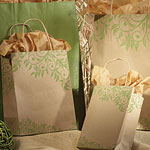 Lantana Designed Paper Shopping Bags