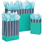 Leaf Silhouette Paper Shopping Bags