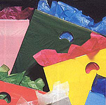2 mil. Low Density Die-Cut Handle Plastic Bags