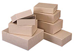 Light Brown Kraft Rigid Gift Boxes
