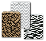 Print Design Flat Merchandise Bags