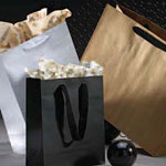 Uncoated Manhattan Bags w/ Twill Handles