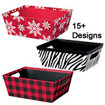 Themed Gift Basket Market Trays