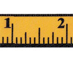 Measure Up Designed Ribbon