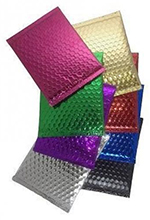 Metallic Bubble Self Seal Mailers