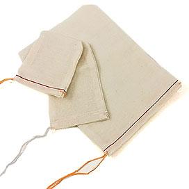 Mill Cloth Drawstring Parts and Gift Bags